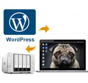 WordPress--Creates various types of blogs & websites