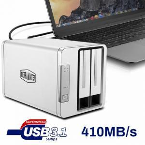 TerraMaster Introduces D2-310 2-Bay RAID Storage with USB 3.1