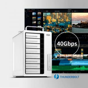 TerraMaster Introduces Upgraded D8 Thunderbolt 3 8-Bay DAS for Professional Creators