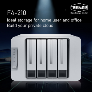 TerraMaster Launches F4-210 NAS for Personal Cloud Storage
