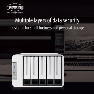 TerraMaster Introduces F5-221 5-Bay NAS For Small Business and Home Office