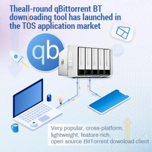 Theall-round qBittorrent BT downloading tool has launched in the TOS application market