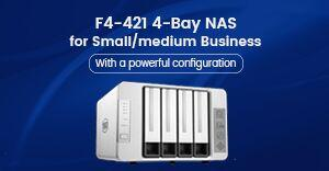 TerraMaster launches the superfast F4-421 for small and medium businesses