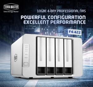 TerraMasterLaunches F4-422 10GbE 4-Bay Professional NAS
